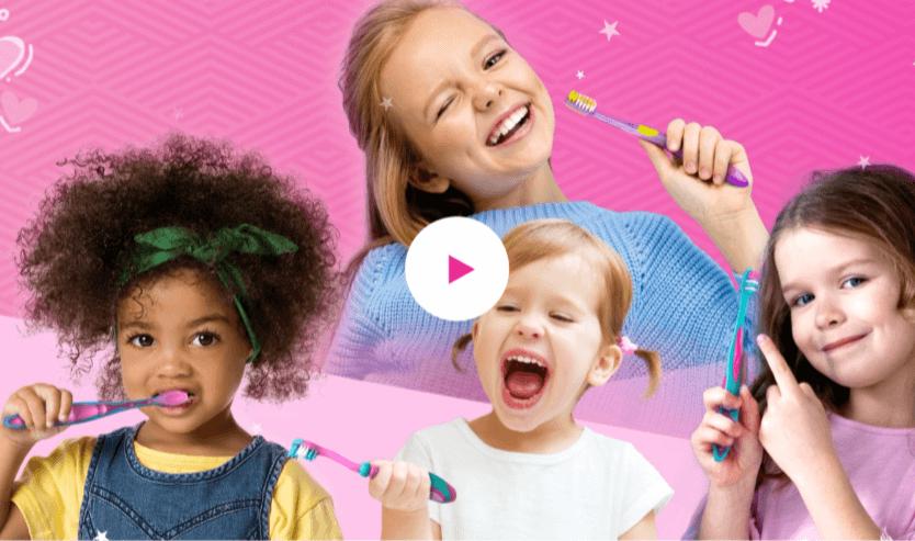 Video escovas barbie
