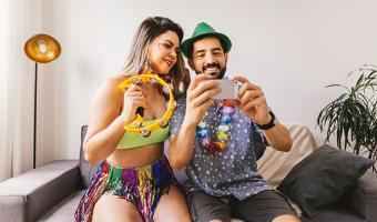 Como curtir o Carnaval em casa